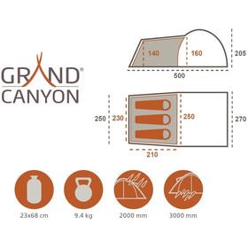 Grand Canyon Fraser 3 Zelt beige